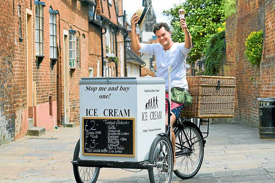 Як продавцю морозива стати оратором?