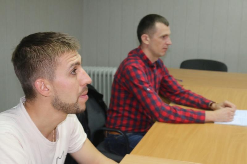Заняття з техніки мовлення - Київ, 2016