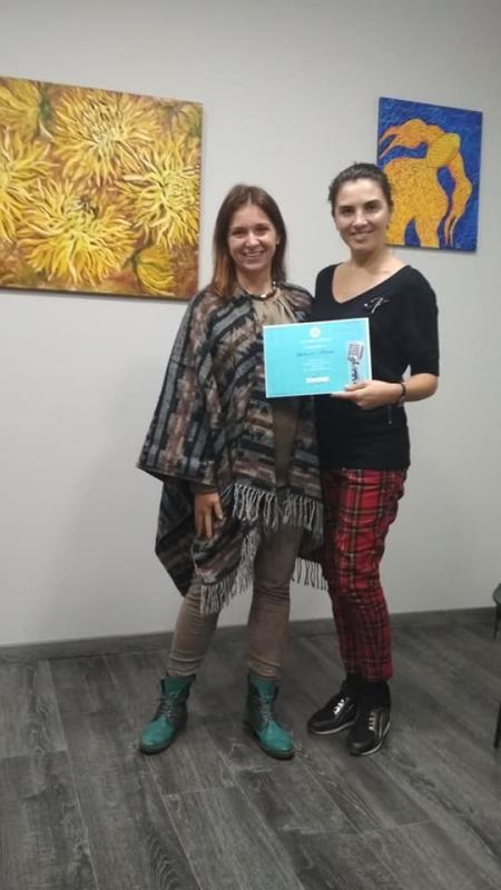 Завершення курсу - Вголос - вересень- 2019, Львів